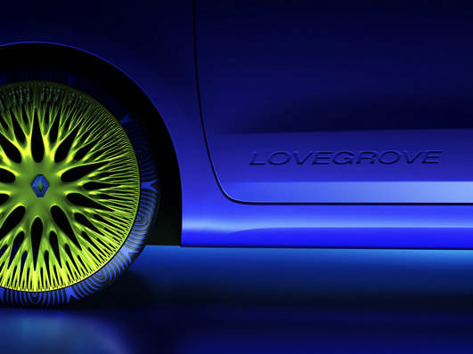 Renault electric concept car Twin Z by designer Ross Lovegrove