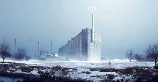 Waste-to-Energy Plant Copenhagen Ski Slope
