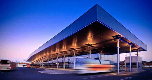 New Bus Station in Osijek Croatia