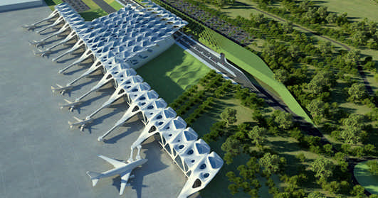 Zagreb Airport Building
