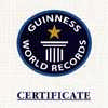 Capital Gate Record Certificate