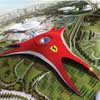Ferrari World Abu Dhabi - Car Museum Buildings