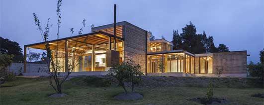 Cotacachi House Ecuador - New Residential Architecture