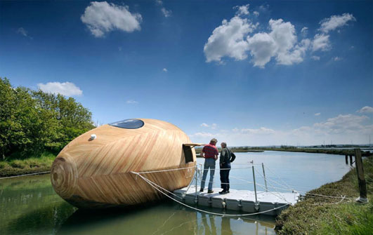 Floating New Forest House