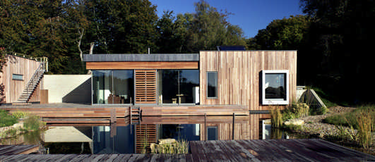 contemporary New Forest property