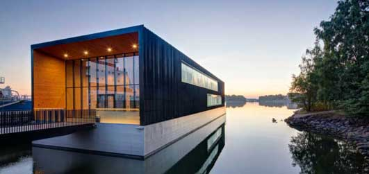 Arctia Shipping floating HQ