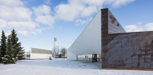 Seinäjoki Library Building - European Copper in Architecture Awards 2013 Winners