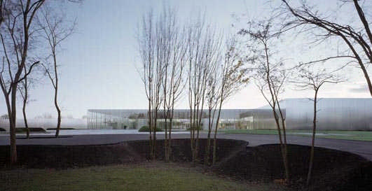 Louvre Lens Museum design by SANAA Architects