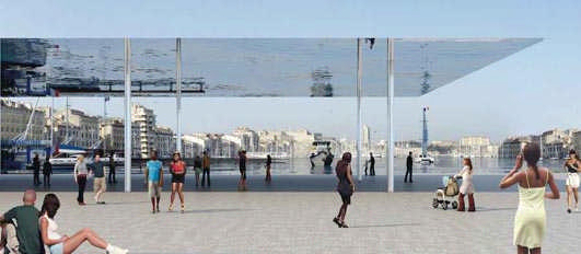 Marseille Vieux Port Masterplan - French Building Designs