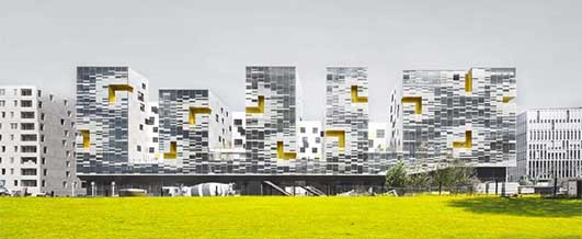 Nanterre Apartment Block France