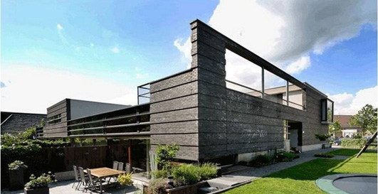 Landscape villas netherlands property e architect for Holland house design