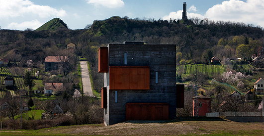 Kemenes Volcanopark Visitor Center - Hungarian Architecture