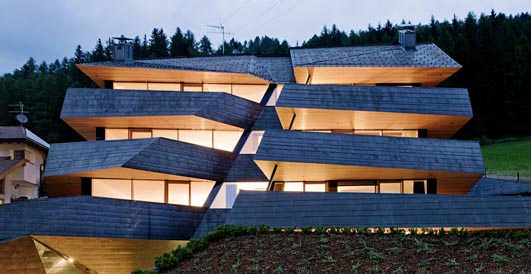 Dolomitenblick Italy - European Copper in Architecture Awards 2013 Winners