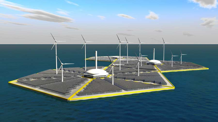 Otec Energy Islands with additonal module for high energy industrial ...