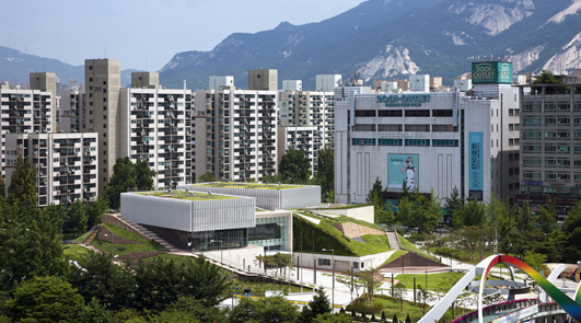 Cultural Development Nowon-gu, Seoul, design by SAMOO Architects & Engineers