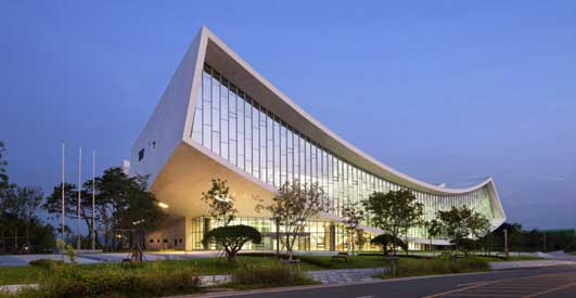 National Library of Sejong City Korea