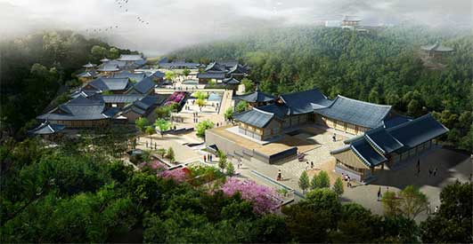 World Confucianism Sunbi Culture Park & Korean Cultural Theme Park South Korea