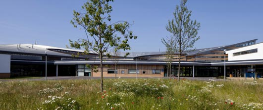 Appleton Academy Building design by BDP Architects