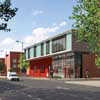 Old Kent Road Fire Station Building design by BDP Architects