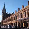 St Pancras Station building