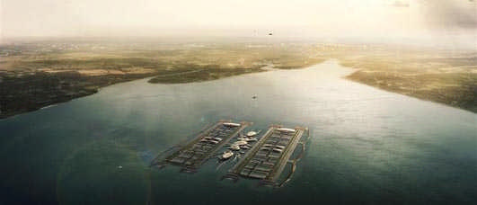 London Britannia Airport : Thames Estuary Terminal