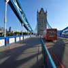 Bascule and Suspension Bridge on River Thames