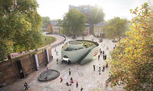 New Cadogan Café Design Competition designentry proposal