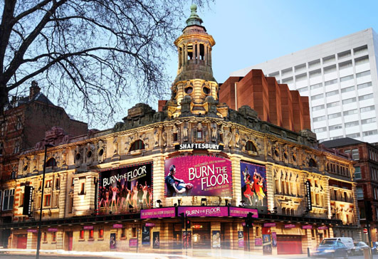 Shaftesbury Theatre Building London