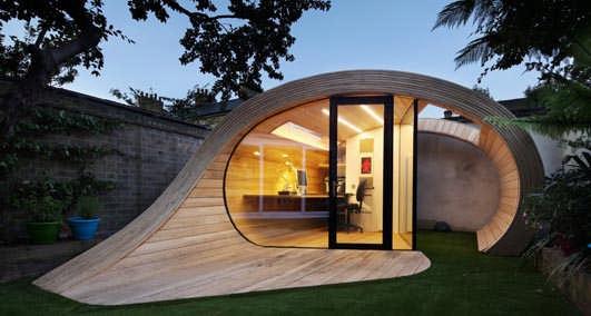 Shoffice Shed Office London E Architect