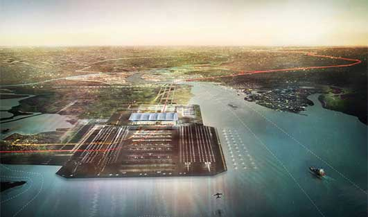 Thames Hub Airport Design