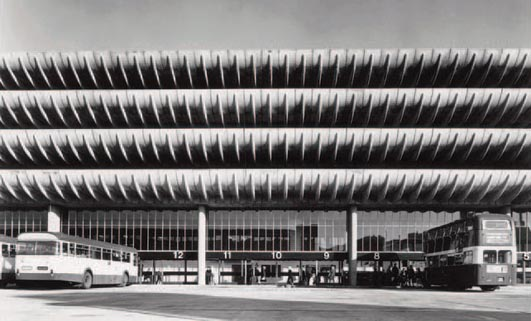 Preston Bus Station building