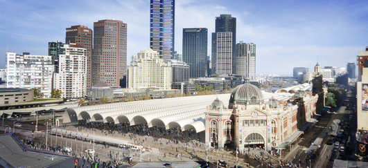Flinders Street Station Melbourne - Building Designs of 2013