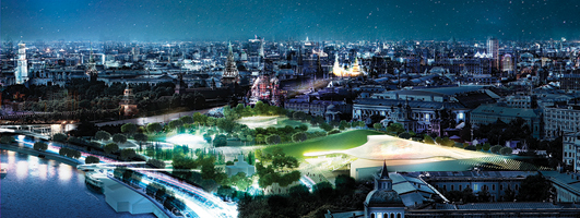 Zaryadye Park Moscow Competition Design