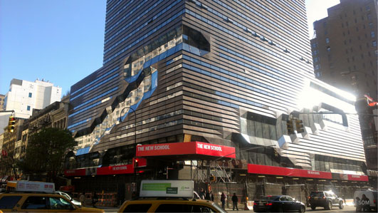 University Center at The New School New York City