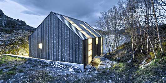 Aure Boathouse Norway