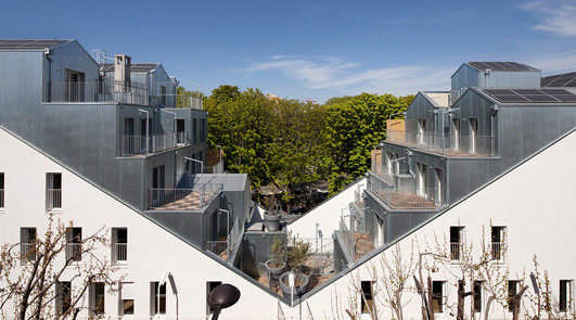 M Building Paris - Contemporary Housing Designs