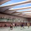 Pajol Sports Centre design by Brisac Gonzalez Architects