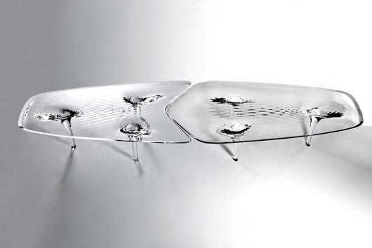 Zaha Hadid Liquid Glacial Table