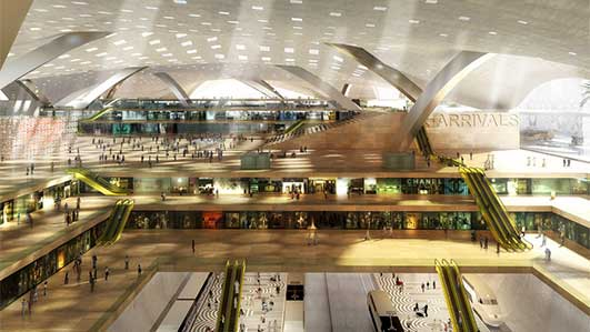 Airport City Building Doha
