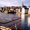 Stromness harbor Orkney