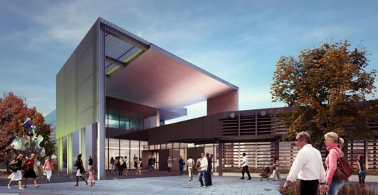 Tacoma Art Museum Building design by Olson Kundig Architects