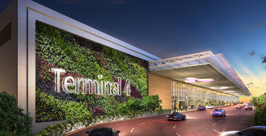 New Changi Airport Terminal 4 Singapore