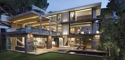 Higgovale Cape Town House - South African Architecture