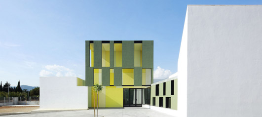 Consell Kindergarten Building - Spanish Architecture