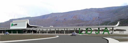 New High Speed Railway Station in Loja