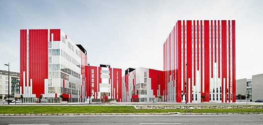 Sharing Blocks University Housing Spain