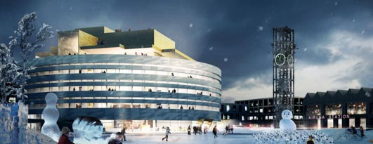 New City Hall in Kiruna