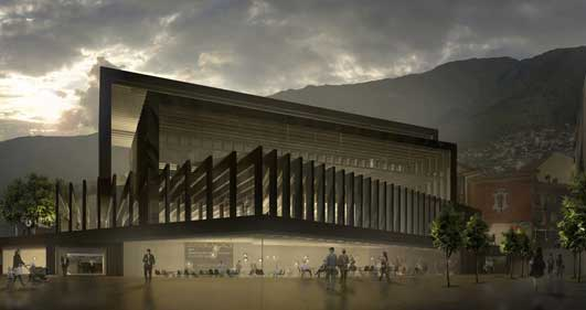 Locarno Film Festival Cinema Hall Building - Swiss Architecture