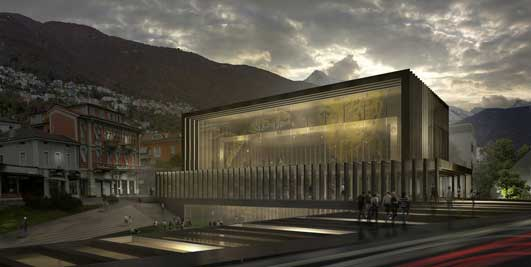 Locarno Film Festival Cinema Hall Building
