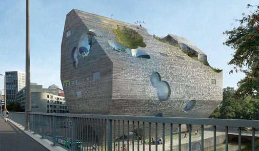 Basel Aquarium Building - Swiss Architecture